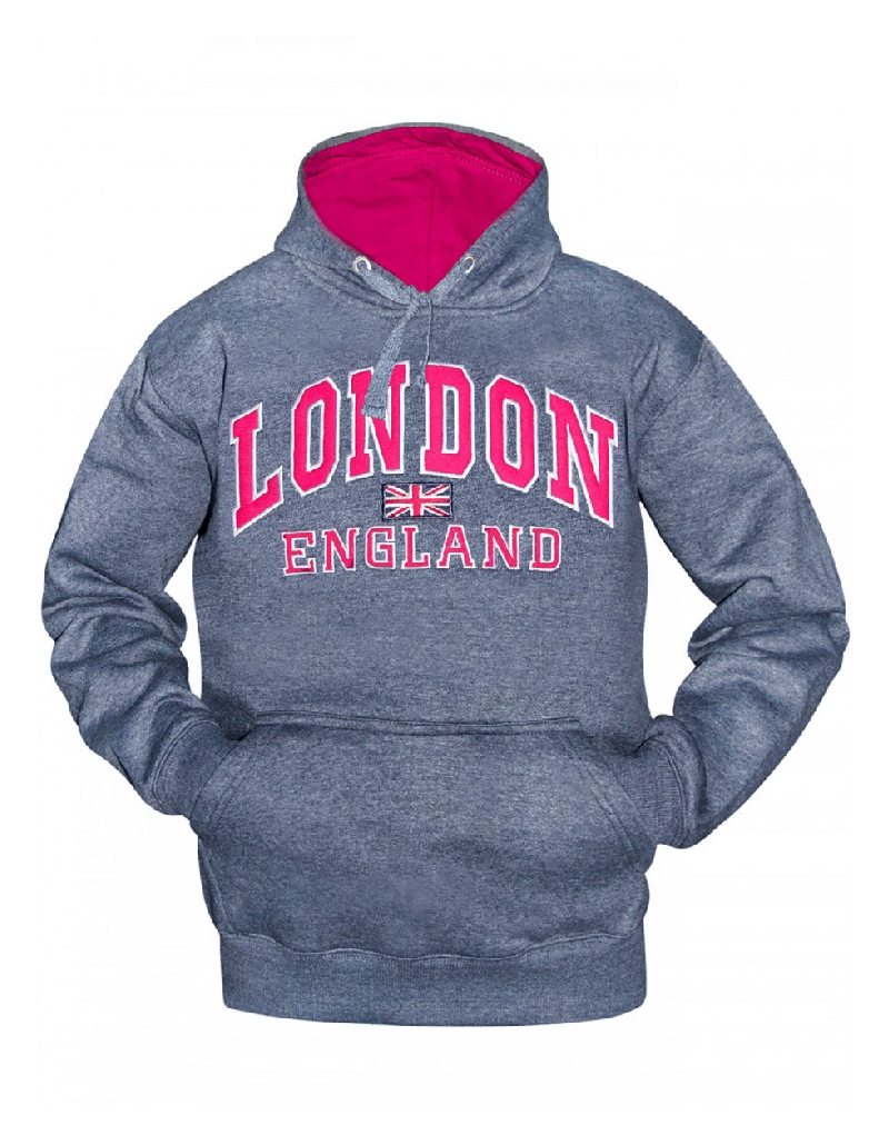 Melange Ladies Hoodie,Warm sweatshirt womens. best hoodies for women,cheap womens hoodies UK.